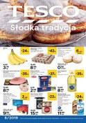 Gazetka promocyjna Tesco Hipermarket - Słodka tradycja - ważna do 27-02-2019