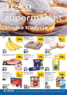 Gazetka promocyjna Tesco Supermarket - Słodka tradycja - supermarket
