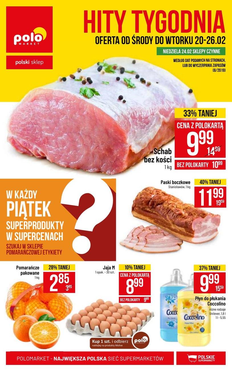 Gazetka promocyjna POLOmarket - ważna od 20. 02. 2019 do 26. 02. 2019