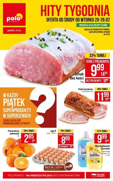 Gazetka promocyjna POLOmarket, ważna od 20.02.2019 do 26.02.2019.