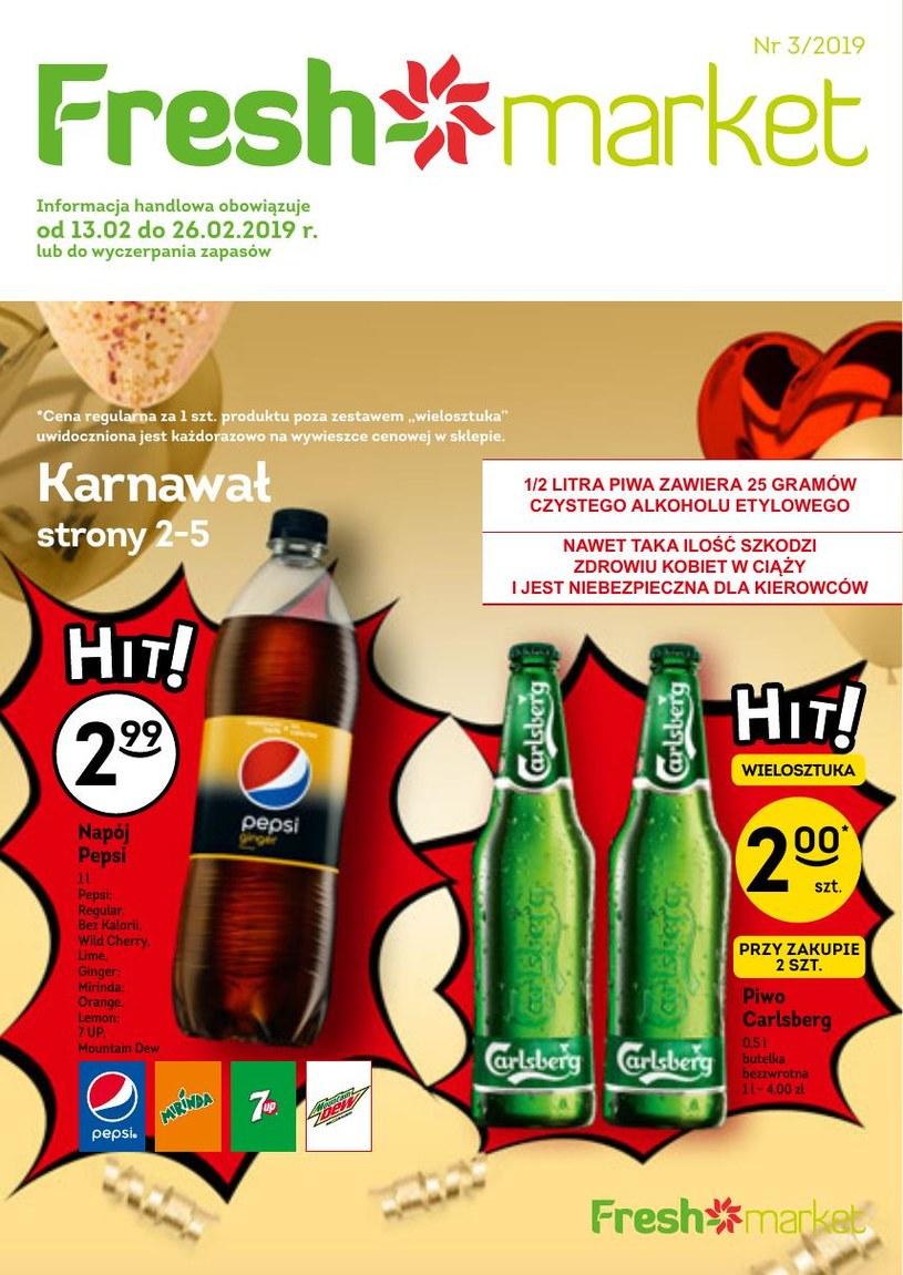 Gazetka promocyjna Freshmarket - ważna od 13. 02. 2019 do 26. 02. 2019