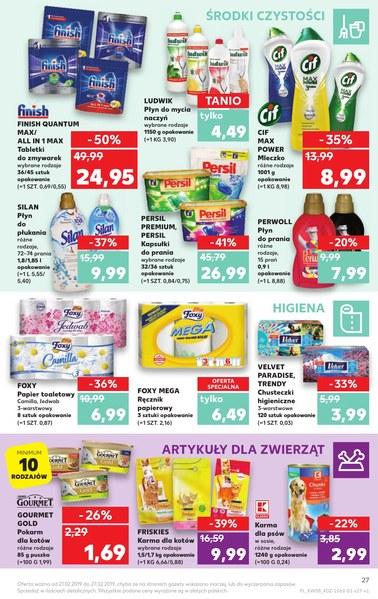 Gazetka promocyjna Kaufland, ważna od 21.02.2019 do 27.02.2019.