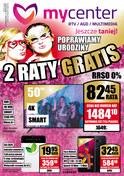 Gazetka promocyjna MyCenter - 2 raty gratis - wybrane sklepy stacjonarne  - ważna do 06-03-2019