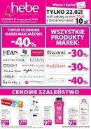 Gazetka promocyjna Hebe - Otwarcie sklepu w Warszawie
