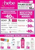 Gazetka promocyjna Hebe - Otwarcie sklepu w Warszawie - ważna do 25-02-2019
