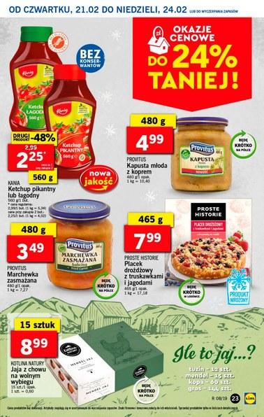 Gazetka promocyjna Lidl, ważna od 21.02.2019 do 24.02.2019.