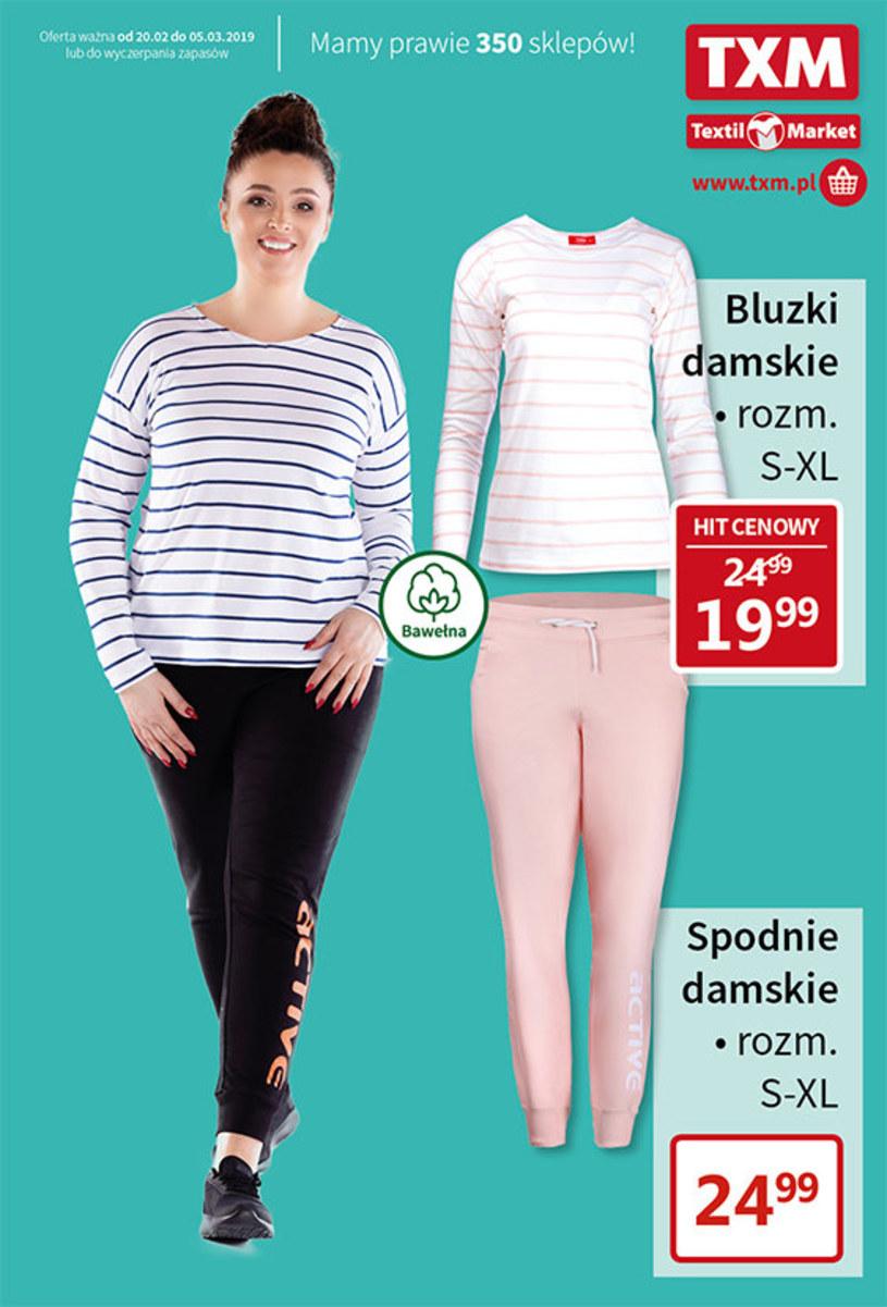 Gazetka promocyjna Textil Market - ważna od 20. 02. 2019 do 05. 03. 2019