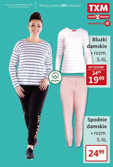 Gazetka promocyjna Textil Market, ważna od 20.02.2019 do 05.03.2019.