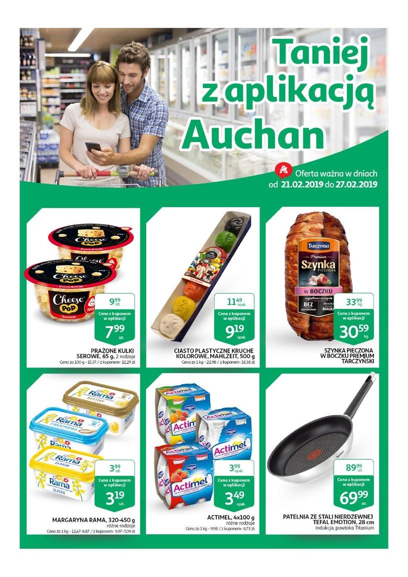 Gazetka promocyjna Auchan - ważna od 21. 02. 2019 do 27. 02. 2019