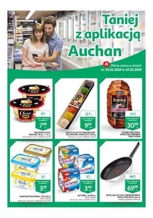 Gazetka promocyjna Auchan, ważna od 21.02.2019 do 27.02.2019.
