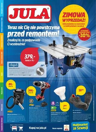 Gazetka promocyjna Jula, ważna od 22.02.2019 do 08.03.2019.