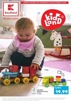 Gazetka promocyjna Kaufland - Kid land