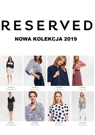 Gazetka promocyjna Reserved, ważna od 20.02.2019 do 31.03.2019.