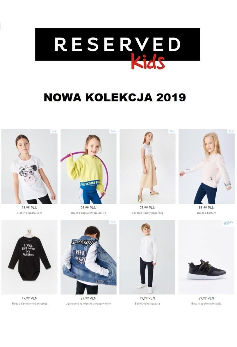 Gazetka promocyjna Reserved - ważna od 20. 02. 2019 do 31. 03. 2019