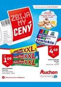 Gazetka promocyjna Auchan - Zbijamy ceny - hipermarket - ważna do 27-02-2019