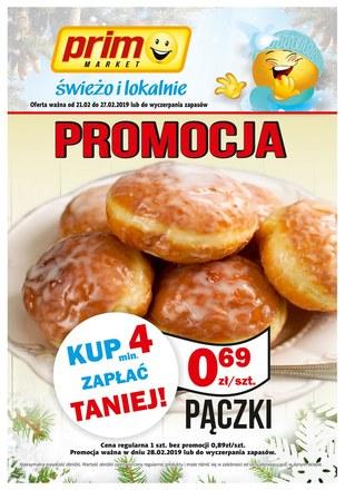 Gazetka promocyjna Prim Market, ważna od 21.02.2019 do 27.02.2019.