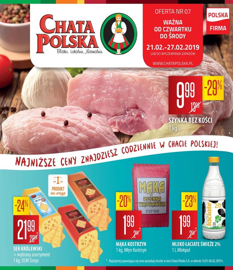 Chata Polska: 1 gazetka