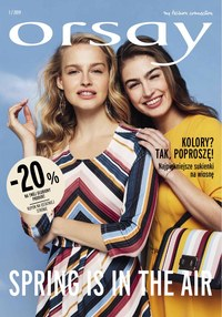 Gazetka promocyjna Orsay - Spring is in the air - ważna do 31-05-2019