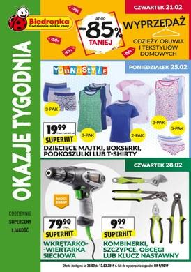 Gazetka promocyjna Biedronka - Oferta handlowa