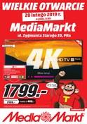 Gazetka promocyjna Media Markt - Wielkie otwarcie - Piła - ważna do 02-03-2019