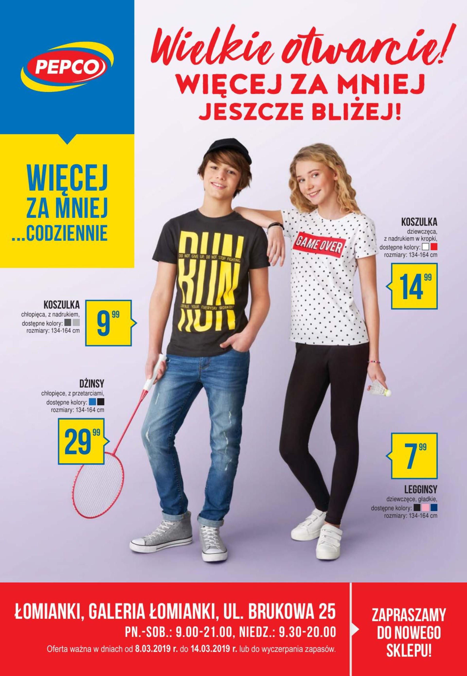 42394e1f3b1cf4 Gazetka Brak danych - gazetka-promocyjna-pepco-08-03-2019,