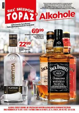 Gazetka promocyjna Topaz - Alkohole