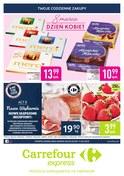 Gazetka promocyjna Carrefour Express - Dzień Kobiet  - ważna do 11-03-2019