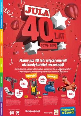 Gazetka promocyjna Jula - Mamy już 40 lat!