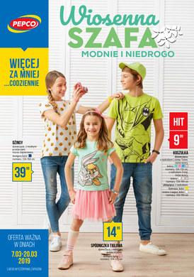 Gazetka promocyjna Pepco - Wiosenna szafa