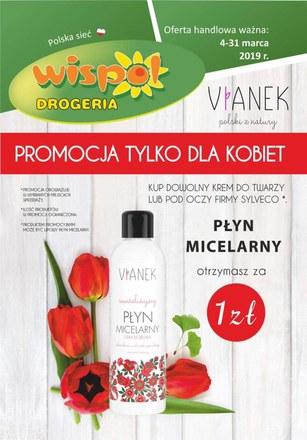 Gazetka promocyjna Drogeria Wispol, ważna od 04.03.2019 do 31.03.2019.