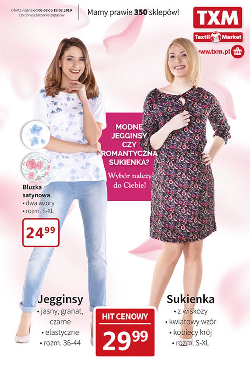 Gazetka promocyjna Textil Market - ważna od 06. 03. 2019 do 19. 03. 2019