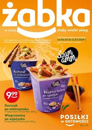 Gazetka promocyjna Żabka, ważna od 06.03.2019 do 12.03.2019.