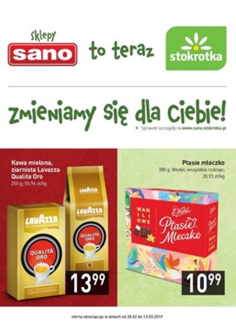 Gazetka promocyjna Sano - wygasła 385 dni temu