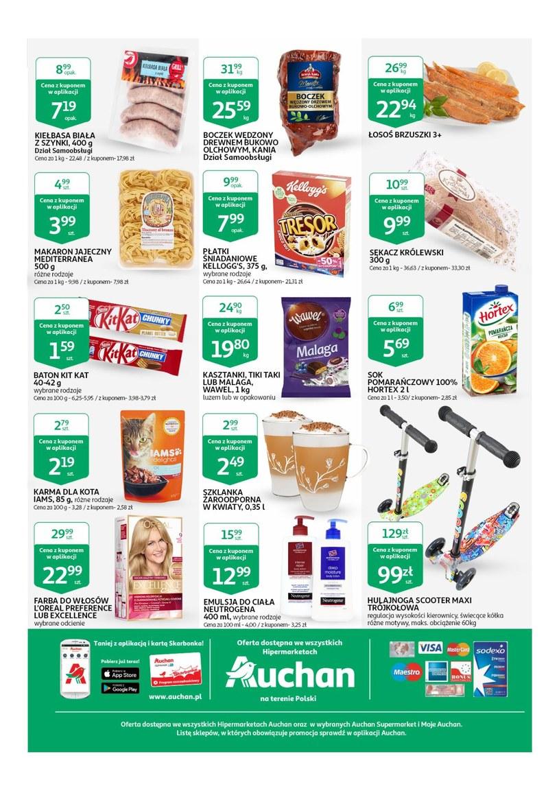 Gazetka Taniej z aplikacją Auchan 07. 03. 2019 13. 03