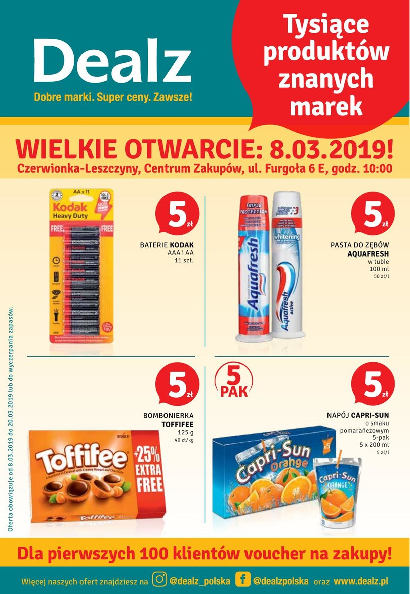 Dealz: 2 gazetki