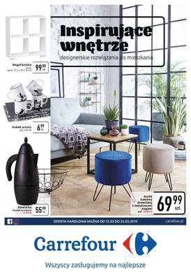 Gazetka promocyjna Carrefour - Inspirujące wnętrze