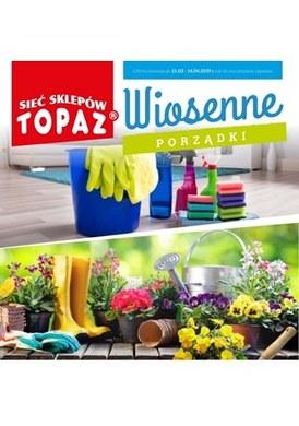 Gazetka promocyjna Topaz - Wiosenne porządki