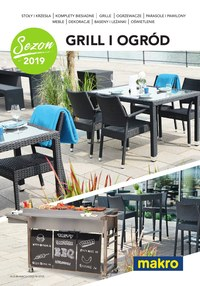 Gazetka promocyjna Makro Cash&Carry - Grill i ogród sezon 2019 - ważna do 30-09-2019