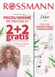 Gazetka promocyjna Rossmann - Poczuj wiosnę we włosach  - ważna do 19-03-2019