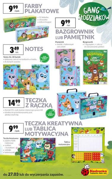 Gazetka promocyjna Biedronka, ważna od 11.03.2019 do 27.03.2019.