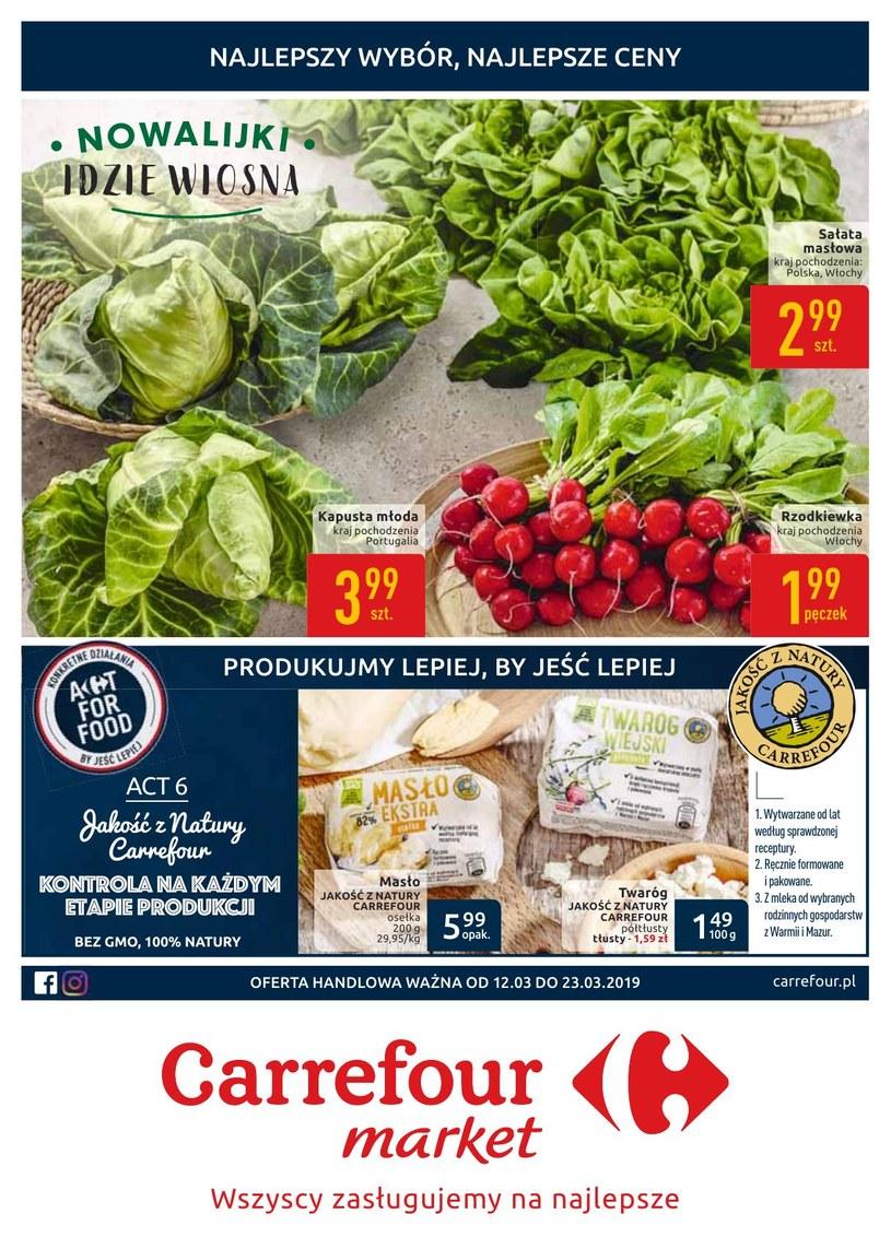 Gazetka promocyjna Carrefour Market - ważna od 12. 03. 2019 do 23. 03. 2019
