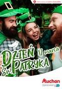Gazetka promocyjna Auchan - Dzień św. Patryka  - ważna do 23-03-2019