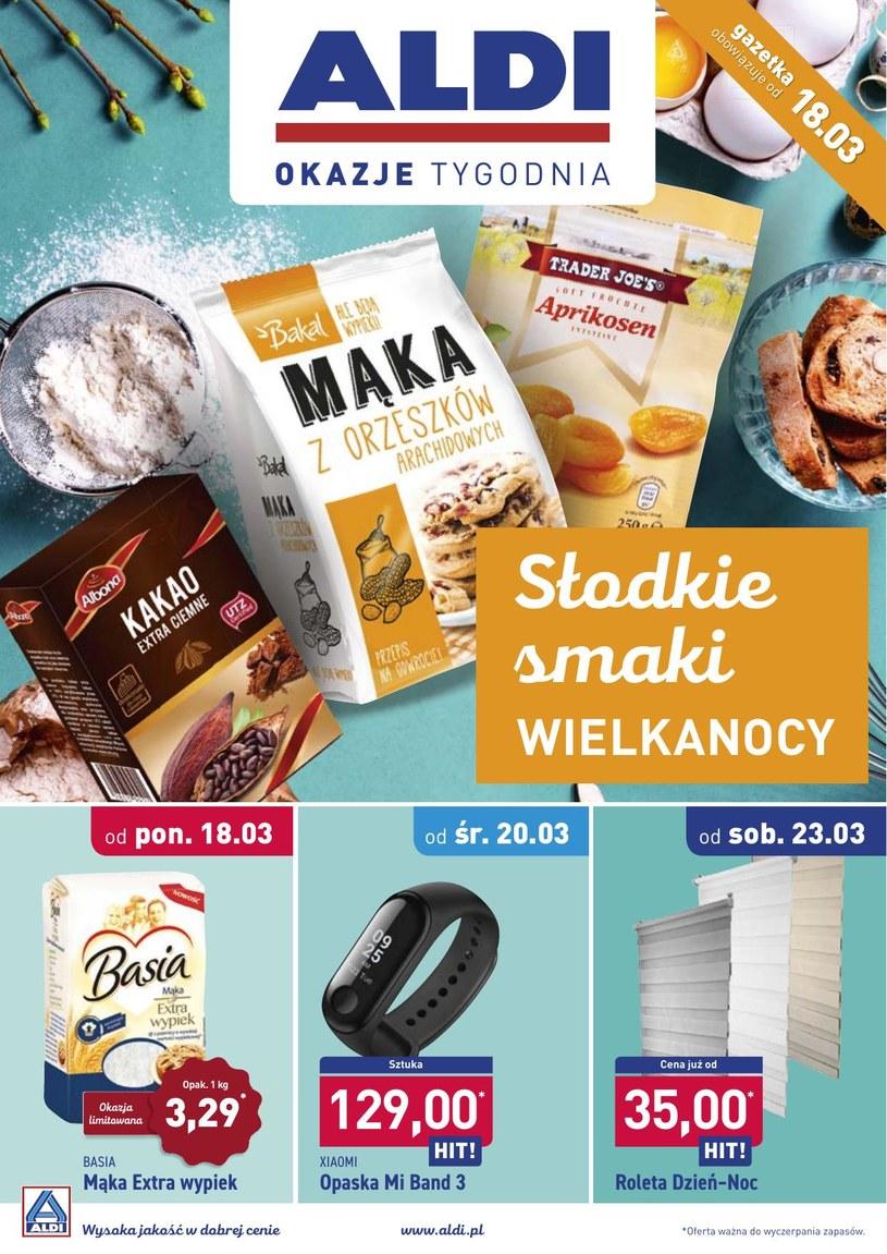 Gazetka promocyjna Aldi - ważna od 18. 03. 2019 do 23. 03. 2019