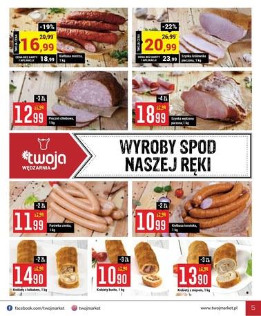 Gazetka promocyjna Twój Market, ważna od 13.03.2019 do 19.03.2019.