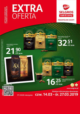 Gazetka promocyjna Selgros Cash&Carry - Extra oferta