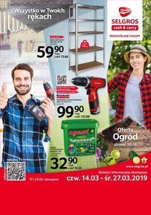 Gazetka promocyjna Selgros Cash&Carry, ważna od 14.03.2019 do 27.03.2019.