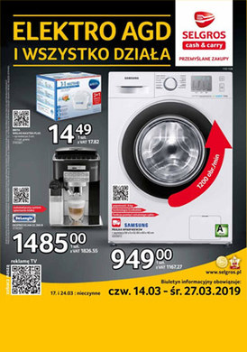 Gazetka promocyjna Selgros Cash&Carry - Elektro AGD i wszystko działa