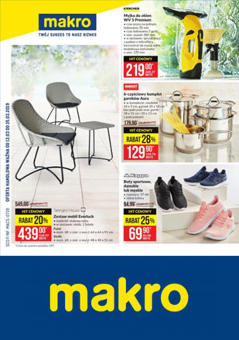 Makro Cash&Carry: 4 gazetki