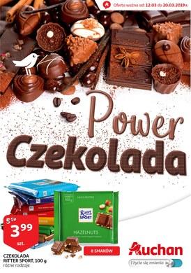 Gazetka promocyjna Auchan - Power czekolada