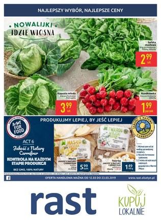 Gazetka promocyjna Rast, ważna od 12.03.2019 do 23.03.2019.